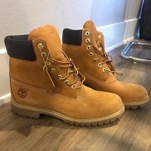 Clean Timberland Men Boots